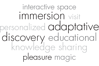 DEA* (museum, castle, exhibition) - Discover a space in a different way, iBeacon innovation, nfc for cultural spaces - immersion, adaptive, discover, educational, transmission of knowledge