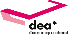 DEA* (museum, castle, exhibition) - Discover a space in a different way, iBeacon innovation, nfc for cultural spaces - Logo